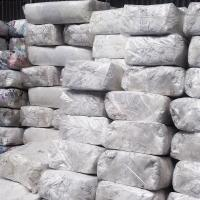 compressed bales white